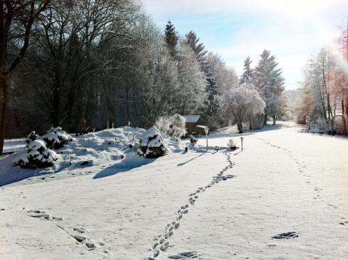 Der Garten - auch im Winter ein Traum